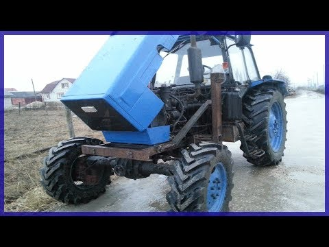 Мульчер SEPPI трактор МТЗ-1221 Беларус 130 лс - YouTube
