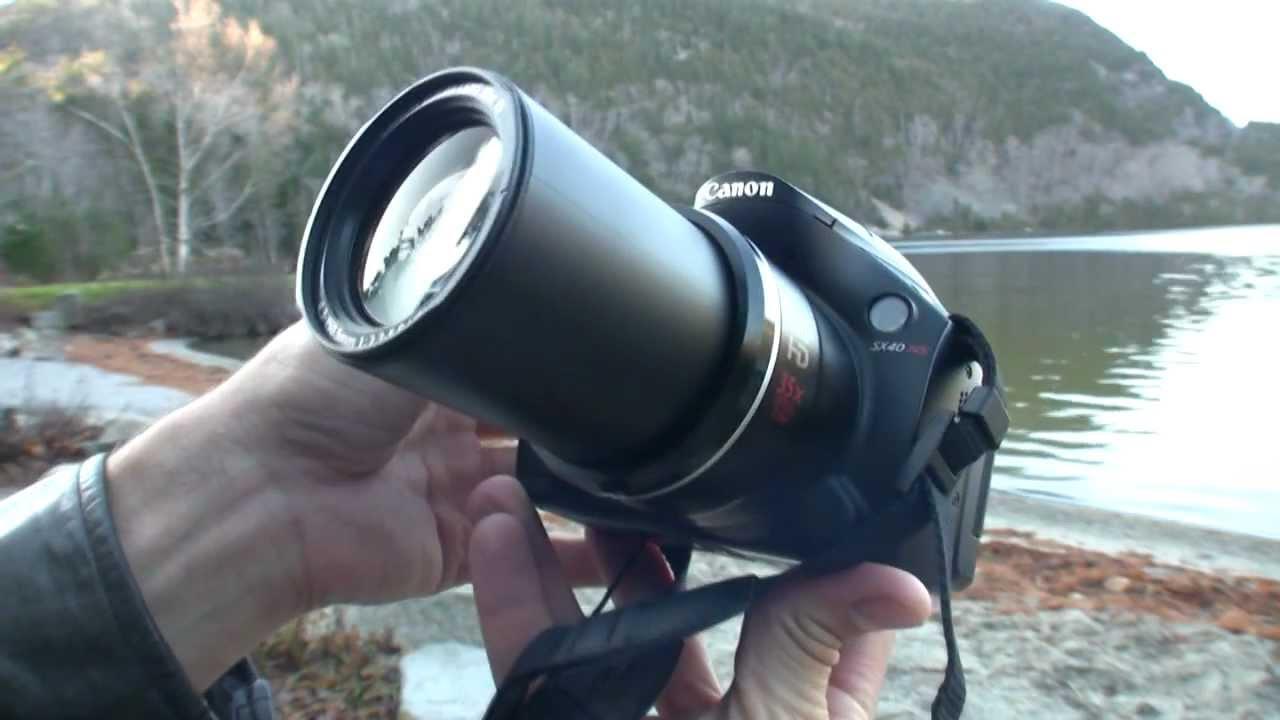 canon powershot sx40 hs review youtube