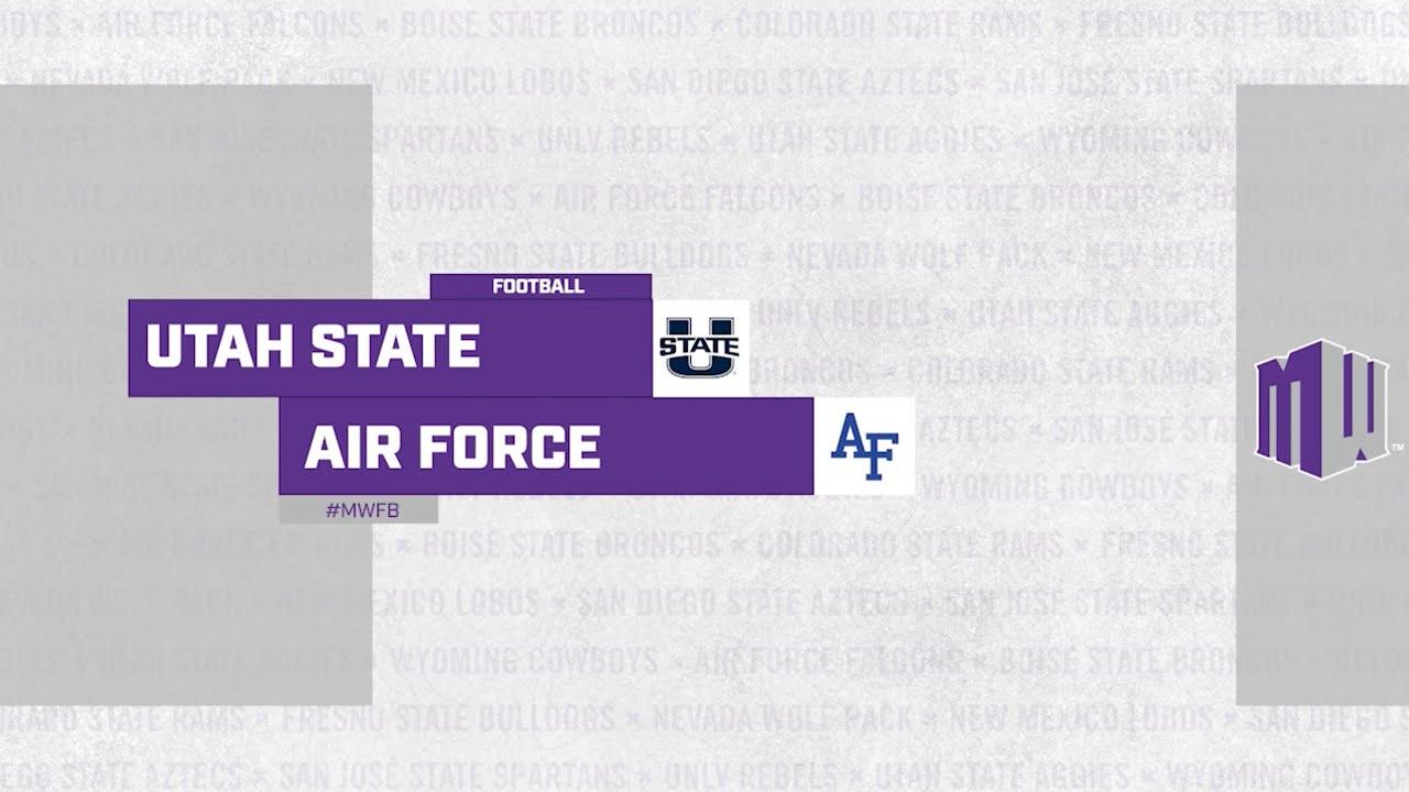 Download HIGHLIGHTS: Utah State at Air Force Football 9/18/21