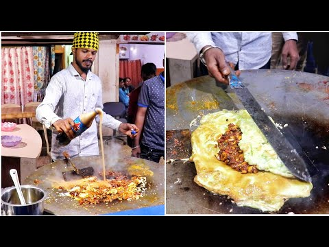 Christmas Special   Bahubali Egg Dish Loaded with 42 Eggs    Egg Street Food   Indian Street Food