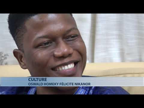 Culture : Nikanor Reçoit Les Félicitations De Oswald Homeky