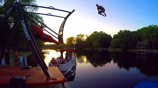 Double Back Flip / Quad Twist / 1080 Double Cork (Russian Swing GoPro 2016)