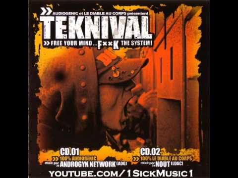 Teknival Mixed by Nout