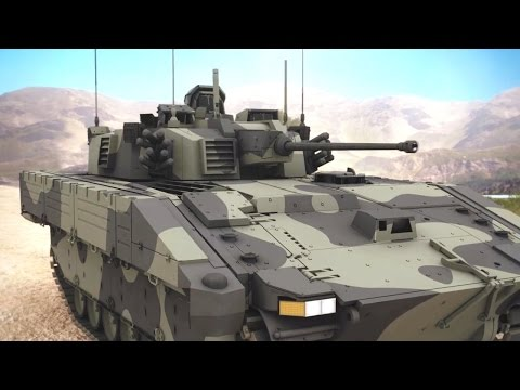 General Dynamics UK - Scout Specialist Vehicle (SV) Simulation [720p]