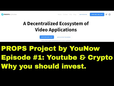 Props Project ICO | Rize Platform | YouNow | Sponsored