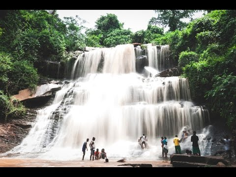 Kintampo waterfalls | Ghana | Pumpum river, a tributary of the Black Volta,  Sander Falls