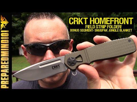 CRKT Homefront: Field Strip Folder (Plus Bonus Clip)- Preparedmind101