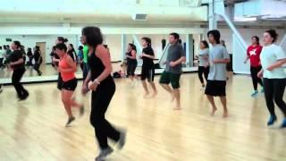 San Diego City College Cardio Kickboxing Class Coach Bodnar