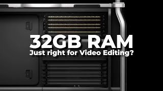 32GB RAM: Ideal for Video Edit…
