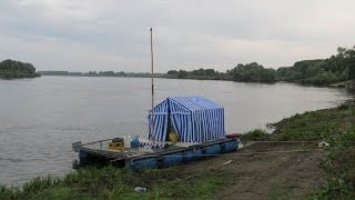 Сплав на плоту по реке Днепр 2011год