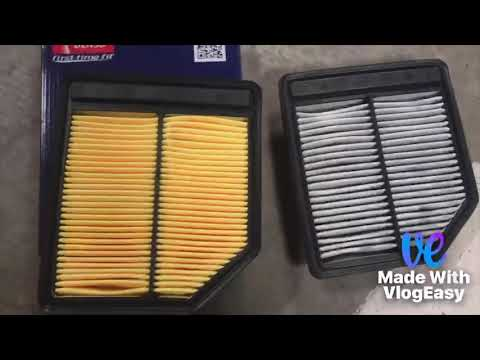 How to Change Air Filter/Cabin Air Filter on 2006 Honda Civic