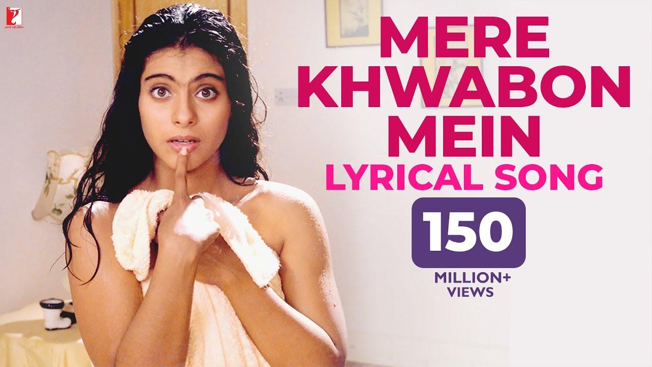 Download Mere Khwabon Mein | Lyrical Song | Dilwale Dulhania Le Jayenge | Kajol, SRK | Lata Mangeshkar | DDLJ