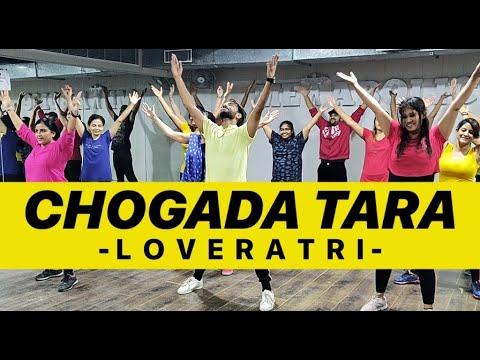 CHOGADA TARA – Loveyatri   Bollywood Garba Dance Workout Choreography   FITNESS DANCE With RAHUL