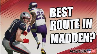 The FADE STOP!! Best Route in Madden 20?