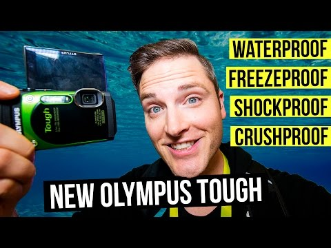 Waterproof Camera Review — Olympus Tough TG 870 for Travel Photography and Video