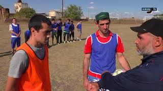 Открытый футбольный турнир села.
