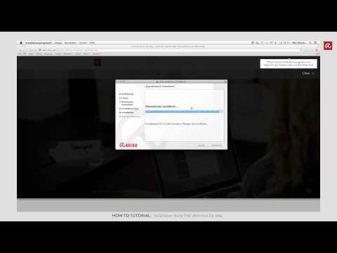 Installation Avira Free Antivirus Für Mac (Deutsch)