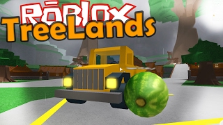 what BIG MELONS! NEW TRUCK | TreeLands [5] | ROBLOX #56