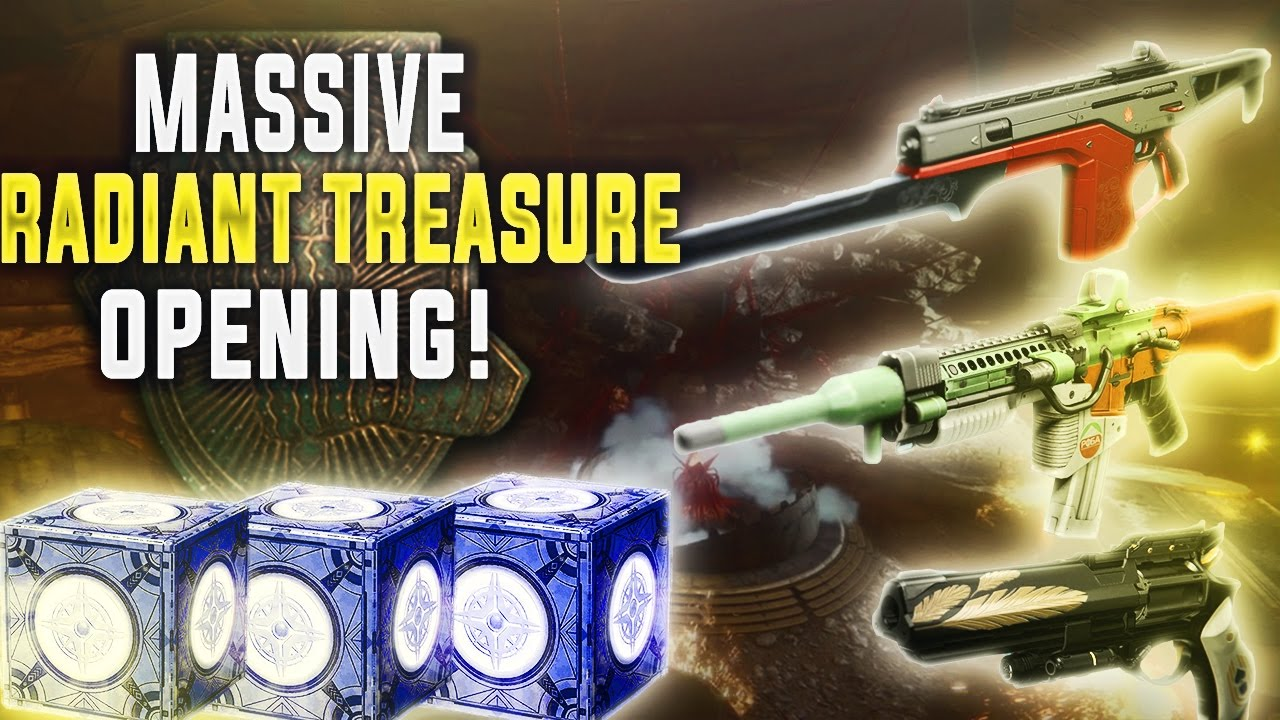 Destiny LIVE RADIANT TREASURE OPENING. EXOTIC ORNAMENTS GALORE!