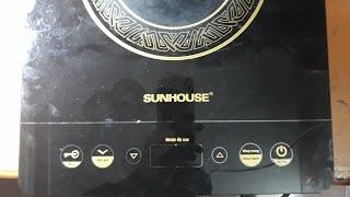 Sửa Bếp Hồng Ngoại Sunhouse Lỗi E2 - #Vlog40