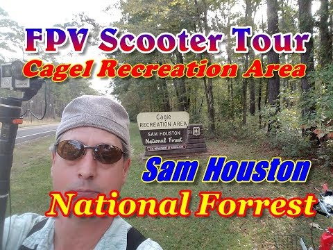 FPV Scooter Tour Of The Cagle Recreation Area On Lake Conroe