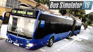 A wycieraczki pan włączył? | Bus Simulator 18 (#12)