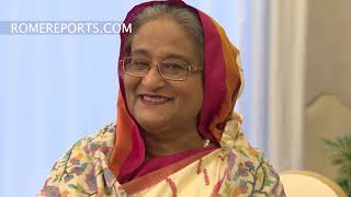 Prime minister of Bangladesh thanks Pope Francis for his trip