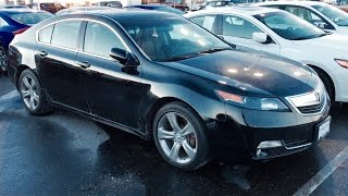 2012 Acura TL SH-AWD Review with Full Interior and Exterior Tour