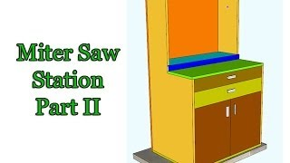 Miter Saw Station - Part 2