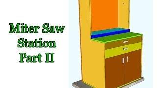 Miter Saw Station - Part 2