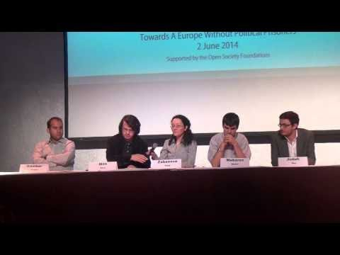 Panel 1 - Towards a Europe without political prisoners - Berlin (2 June 2014)