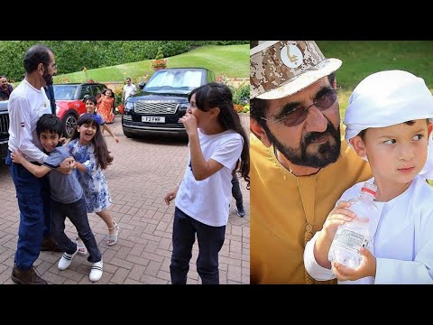 Family Children Mohammed Bin Rashid Al Maktoum Lovely Children | Fazza Videos