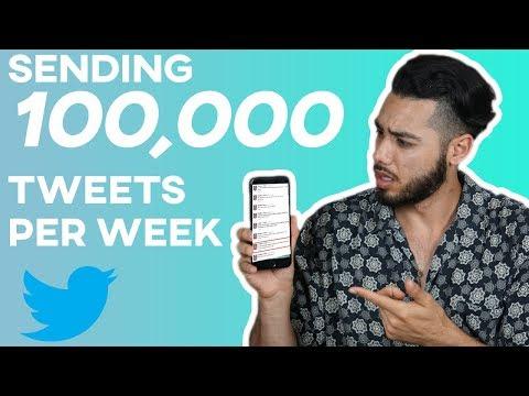 Twitter Bots: Sending 10,000 Tweets A Day. http://bit.ly/34afKXn