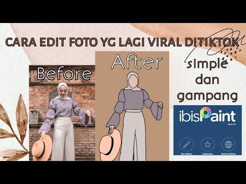 Cara Edit Foto Yg Lagi Viral Ditiktok Simple Banget || Tutorial || TIKTOK TUTORIAL