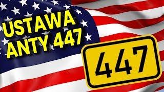 Ustawa ANTY 447 Just Act - Jak Działa - O Co Chodzi - Relacja Analiza Komentator Pieniądze Polityka