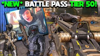 BUYING WHOLE *NEW* BATTLE PASS! TYPE 25 GEOMETRY, FTL and PHANTOM SKINS ARE INSANE in COD Mobile!