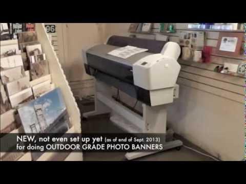 Print Shop's printing equipment
