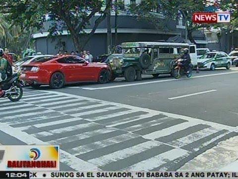 BT: Sports car na nakainom ang driver, bumangga sa kasalubong na jeep sa QC