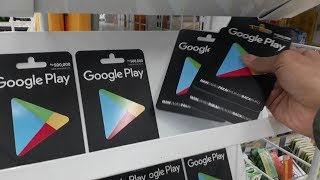 Baixar Borong Kartu Google Play 1,5 Juta + Giveaway #vlog di indomaret