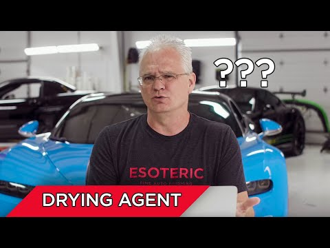 Do I need to use a drying agent when drying my car? | FAQs by ESOTERIC!