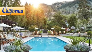 Calistoga Ranch, Calistoga Hotels - California