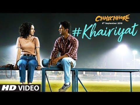 Khairiyat Pucho lyrics - Arijit Singh #Sushant Singh Rajput