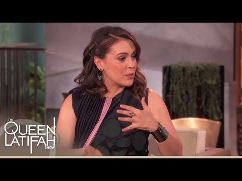 Alyssa Milano Talks Baby Talk  The Queen Latifah