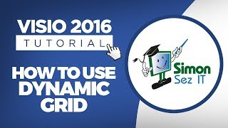 How to Align Shapes in Visio 2016 Using Dynamic Grid