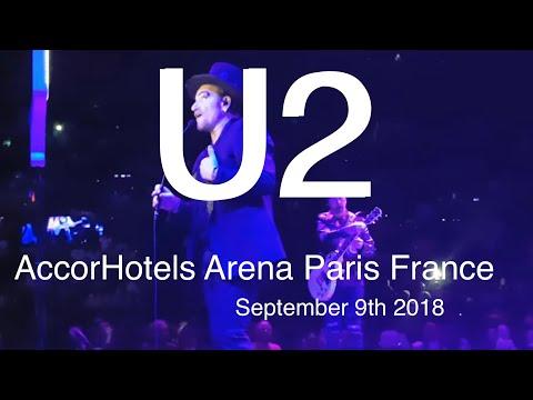 U2 Live Best Part Concert 4K @ AccorHotels Arena Paris 9 September 2018 eXPERIENCE+iNNOCENCE Tour