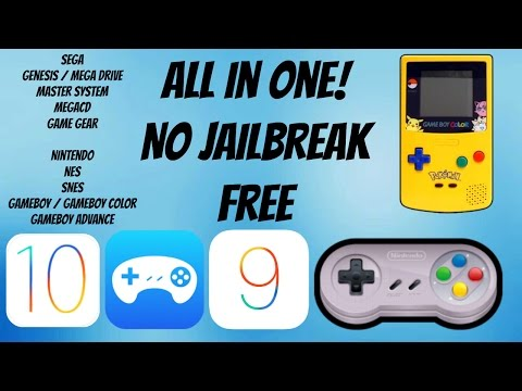 DOWNLOAD GBA,SEGA EMULATOR ON IOS 10,IOS 9(Provenance)(FREE NO JAILBREAK)