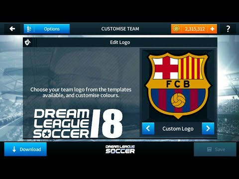 How To Import Fc Barcelona Logo And Kits In Dream League Soccer 2018