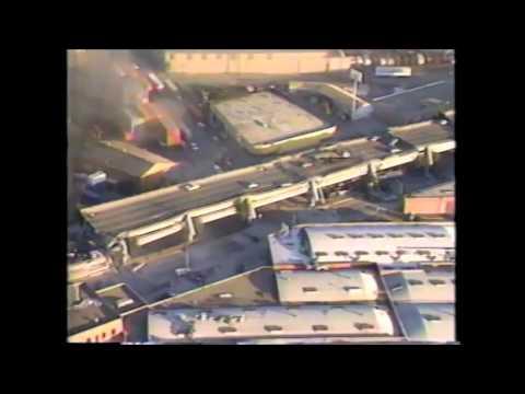 SF earthquake footage 1989
