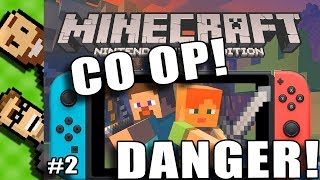 lets play minecraft 2 player split screen co op nintendo switch edition - Christmas Minecraft Videos