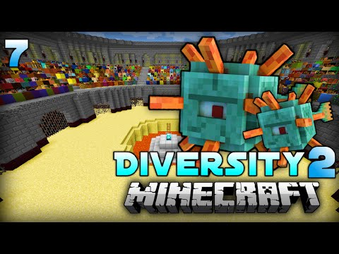 INVASION in der ARENA!! - Minecraft Diversity 2 - #07 [Deutsch/HD]